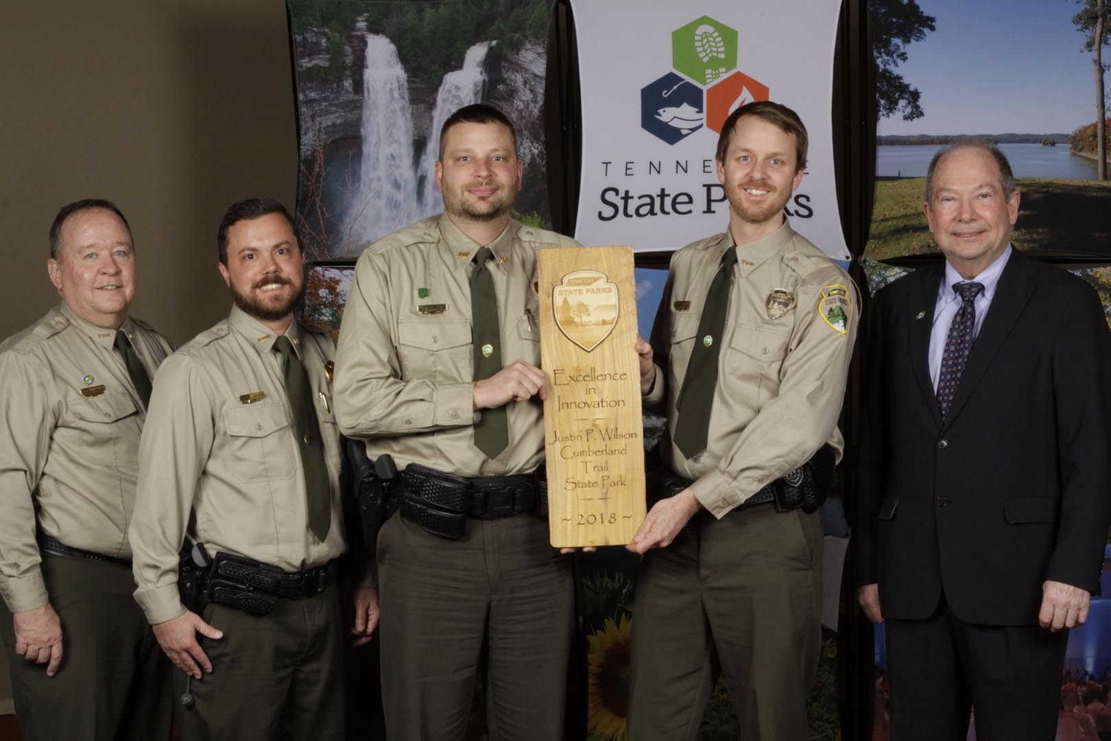 JUSTIN P. WILSON CUMBERLAND TRAIL STATE PARK HONORED FOR INNOVATION