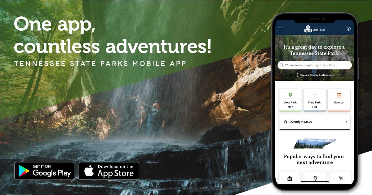 The Updated Tennessee State Parks Mobile App