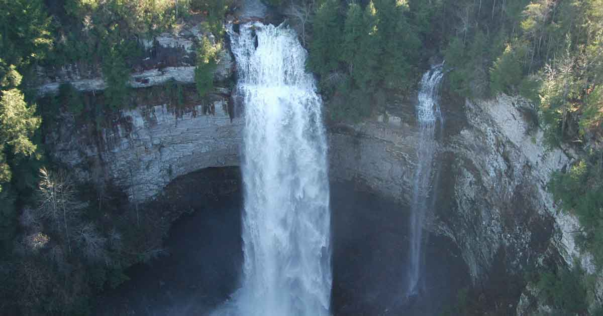 Fall creek falls state park tennessee state parks - Clifty falls state park swimming pool ...