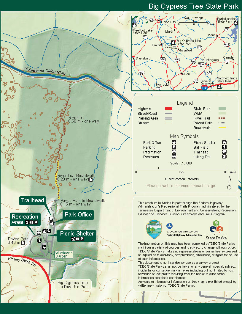 Park Trail Maps — Tennessee State Parks